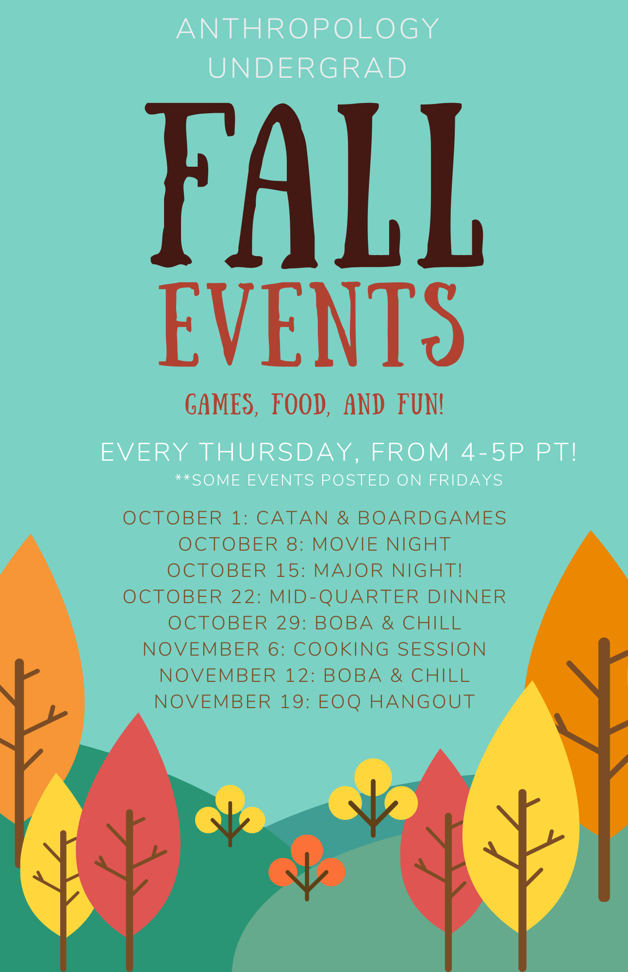 Fall Event Poster
