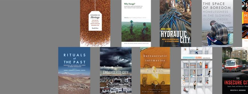 new books by recent anthropology phd graduates