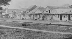 Image of San Jose Chinatown in 19th century - Barb Voss' research