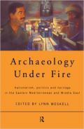 archaeology-under-fire book cover image