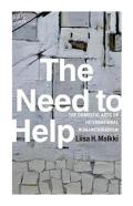 the need to help  book cover image